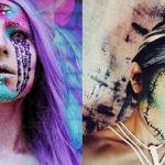 Как сделать макияж на Хэллоуин 2015. Фотообзор