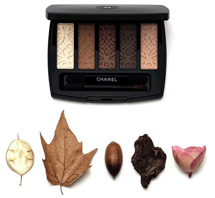 2Осенняя коллекция макияжа Шанель (Chanel) 2015 – Свотчи
