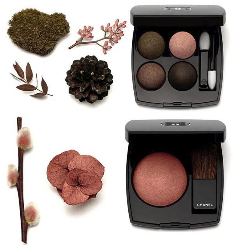 7Осенняя коллекция макияжа Шанель (Chanel) 2015 – Свотчи