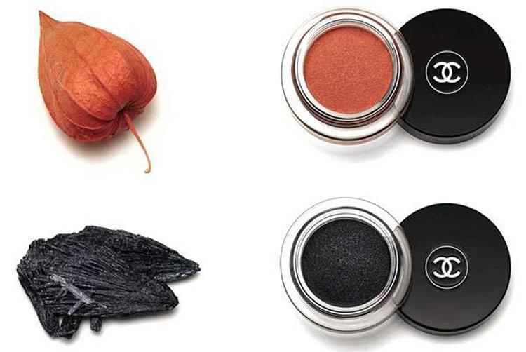 6Осенняя коллекция макияжа Шанель (Chanel) 2015 – Свотчи