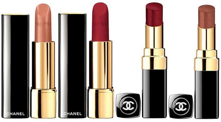 5Осенняя коллекция макияжа Шанель (Chanel) 2015 – Свотчи