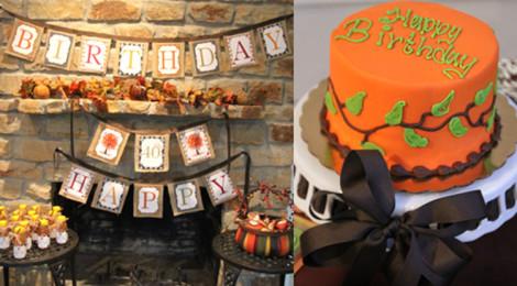 Как весело отметить день рождения осень