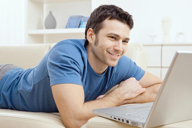 Как общаться с парнем в интернете примеры