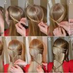 kak poshagovo delat' pricheski s pleteniem kos (2)
