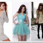 Ваш наряд на Новый год 2016: фото, модные цвета и фасоны новогодних платьев