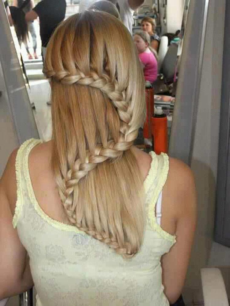 Красивое плетение кос на
