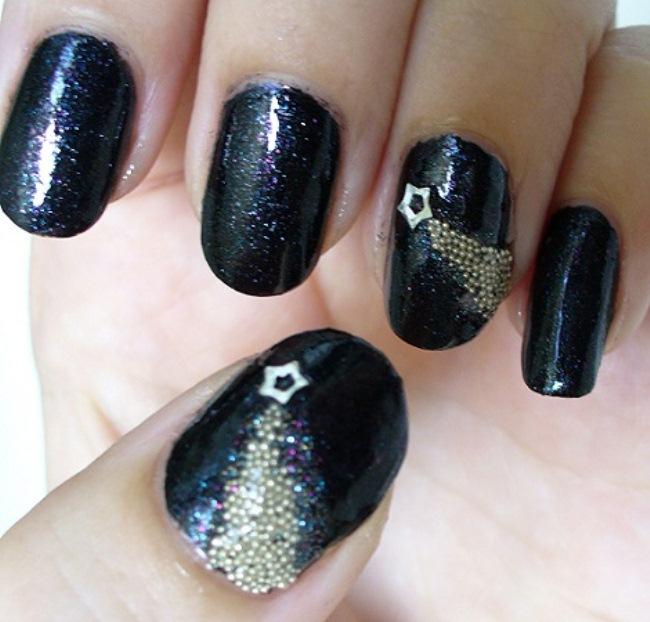Модный дизайн ногтей на новый год 2016