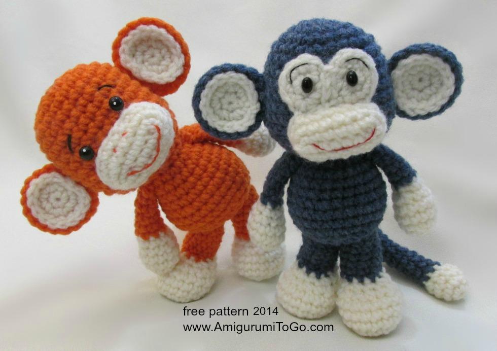 Символ года обезьянка крючком своими руками