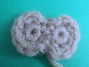 глаза обезьянки вязаной крючком