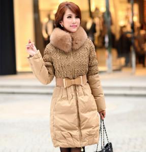 2016-Winter-Women-Long-Section-Slim-Jacket-New-Winter-Coat-Mom-Down-Coat-Plus-Size-S