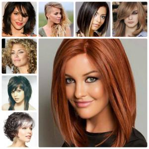 Модные женские прически на средние волосы 2016 (фото-обзор)