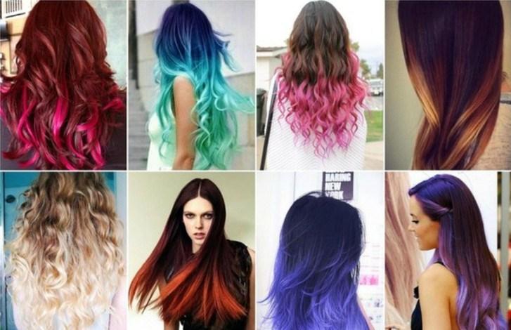 Сегодня окраска волос