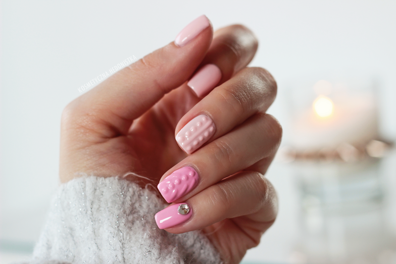 Как делать дизайн ногтей вязаный свитер