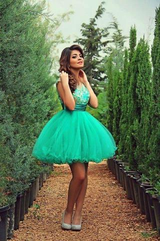 2015-New-Short-Prom-Homecoming-Dresses-Party-font-b-Graduation-b-font-Cocktail-Gown-With-Sheer