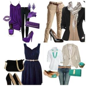 Как правильно и стильно сочетать цвета одежды в 2016 году