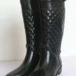 New-Arriving-font-b-Gumboots-b-font-Knee-High-Rain-Shoes-font-b-Ladies-b-font