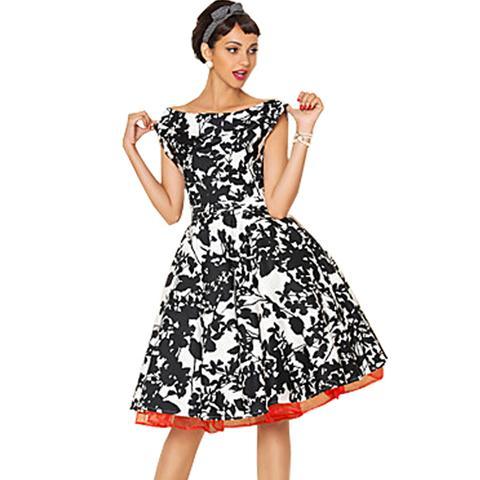 Women-s-50s-Vintage-Retro-Style-Audrey-Hepburn-Evening-Party-font-b-Outfit-b-font-Pleated