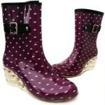 Women-s-rain-boots-rainboots-plus-velvet-high-heeled-Gumboots-waterproof-flats-rubber-women-botas-de