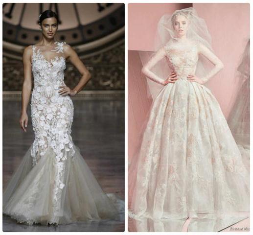 кружевные платья для невест
