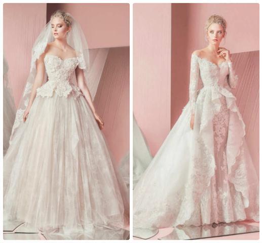 роскошные свадебные ретро платья