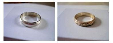 серебро до и после очищения в домашних условиях