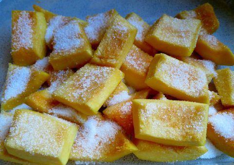 3 вкусных и простых рецепта цукатов из тыквы в духовке