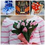 Подарок из конфет своими руками на день рождения: фото и варианты