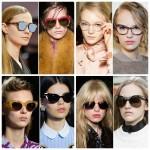 Модные солнцезащитные очки 2016 фотообзор ― Лучшие женские модели! Правила выбора оправы по форме лица