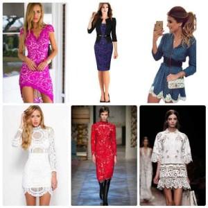 кружевные платья 2016 фото