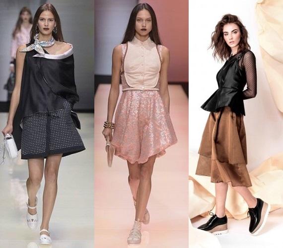 юбки миди 2016 года модные тенденции