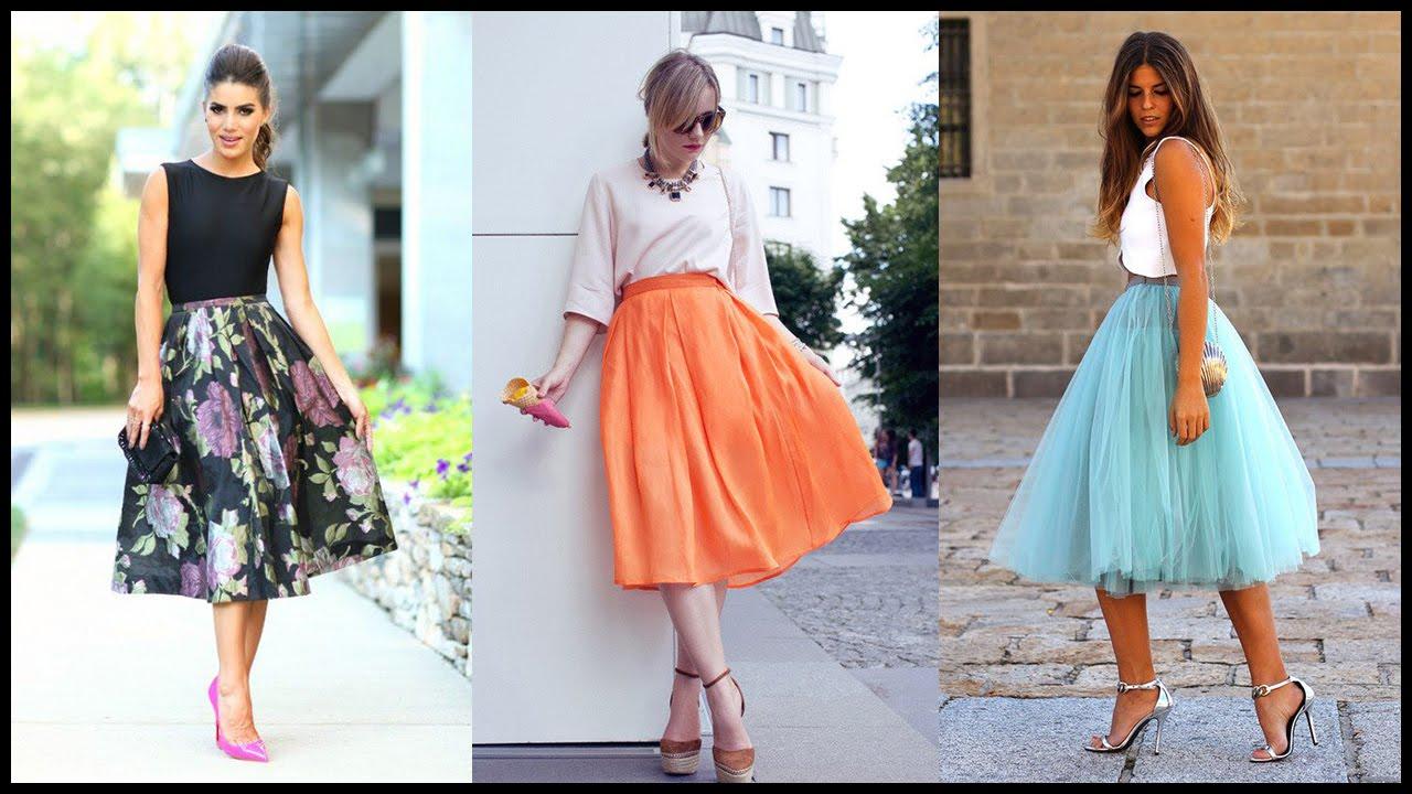 миди юбки 2016 года модные тенденции фото