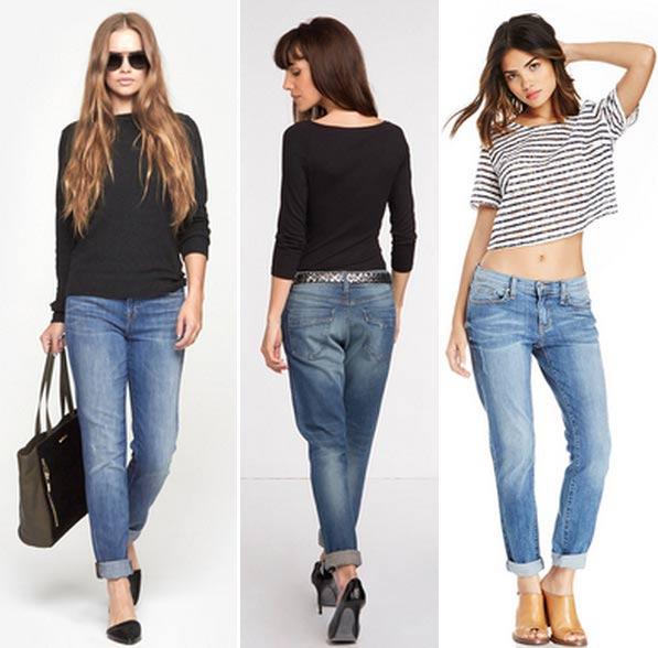 Модные джинсы бойфренды 2