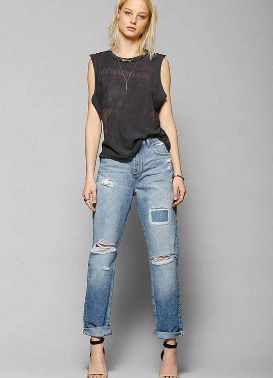 Модные джинсы герлфренды