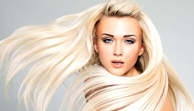 Волосы блондинок фото