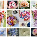 Идеи свадебных букетов для невесты: фото-новинки 2016-2017 года