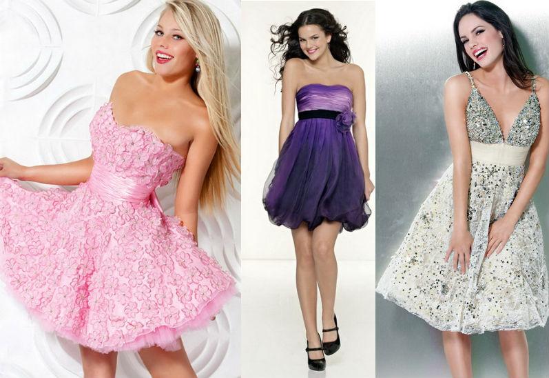 Фасоны платьев на выпускной 9