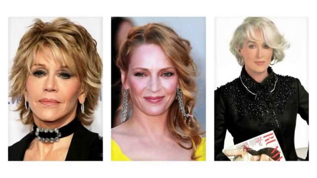 прически для женщин в 50 лет