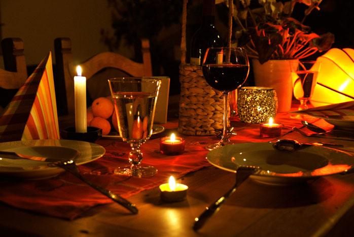 Как устроить романтический вечер в домашних условиях