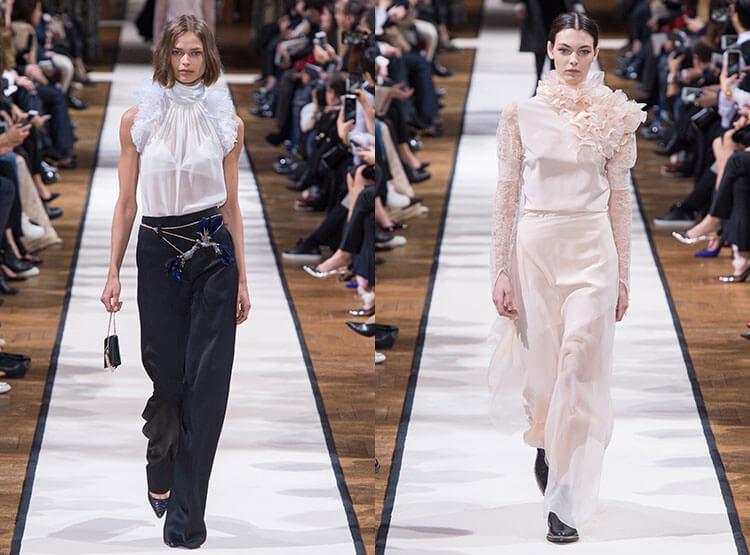 Модные блузки сезона 2018-2019 – стильная зима и осень