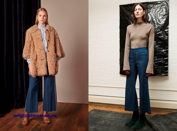 Модные джинсы осень-зима 2018-2019