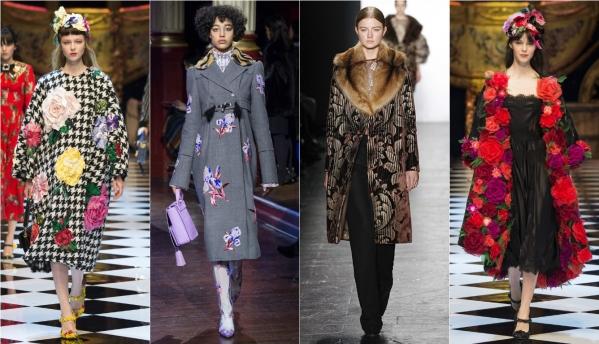 Женские пальто 2018-2019 года - модные тенденции с подиумов