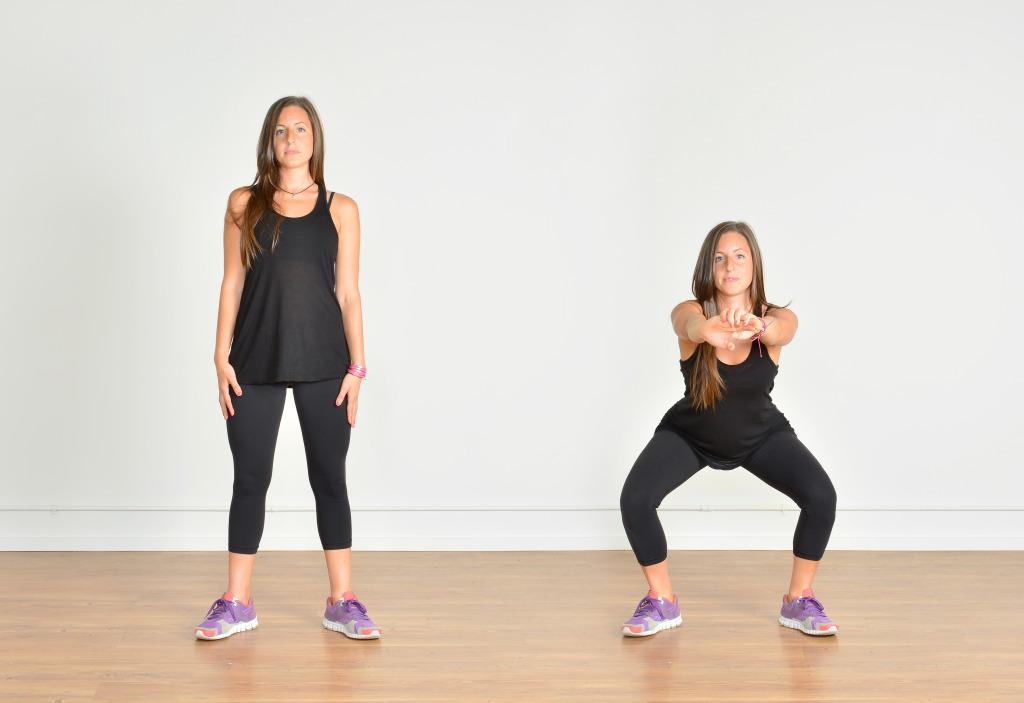 Упражнения берпи для начинающих