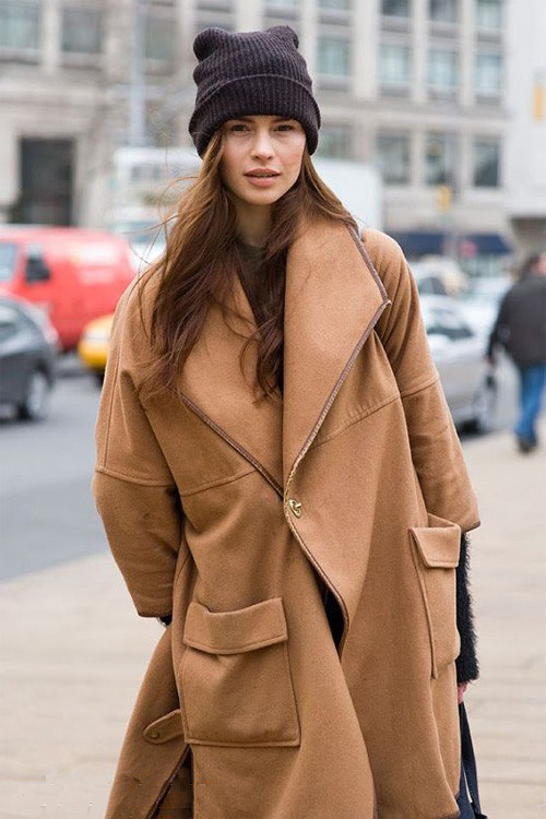 Пальто Оверсайз - хулиганский стиль