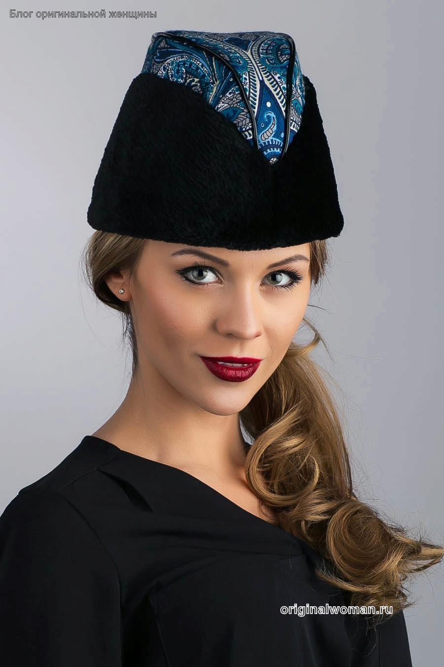 Женские шапки 2017-2018 года: модные тенденции (50) фото