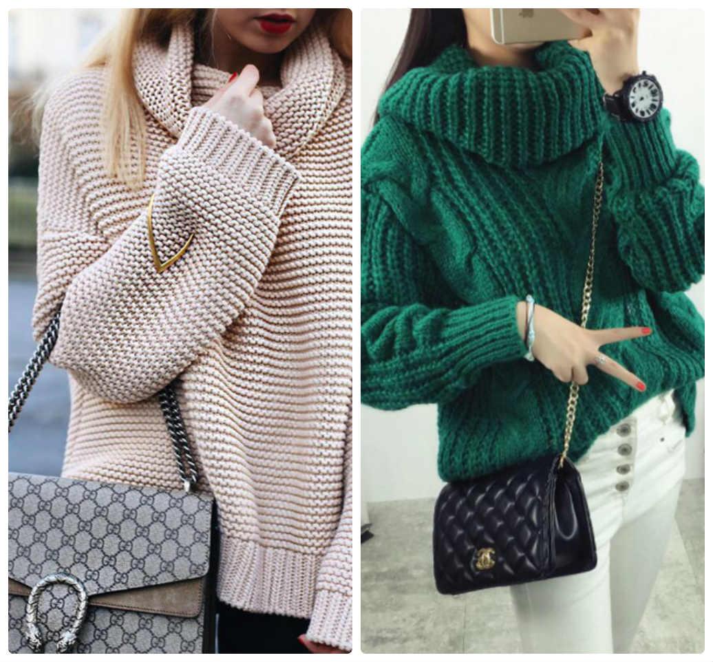 fe33200e1c1 Модные свитера сезон осень-зима 2018-2019 - лучшие женские модели и ...