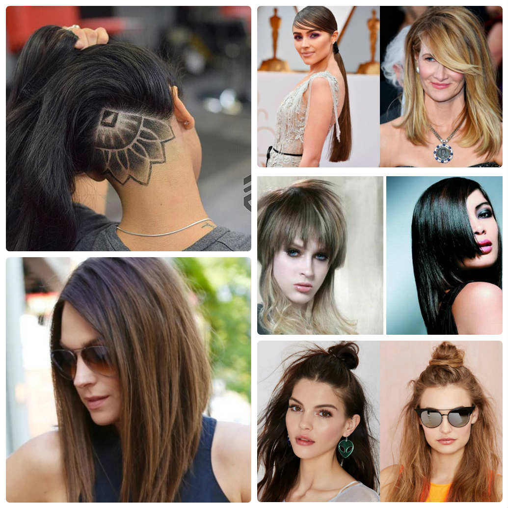 Какая длина волос в моде в 2018 фото