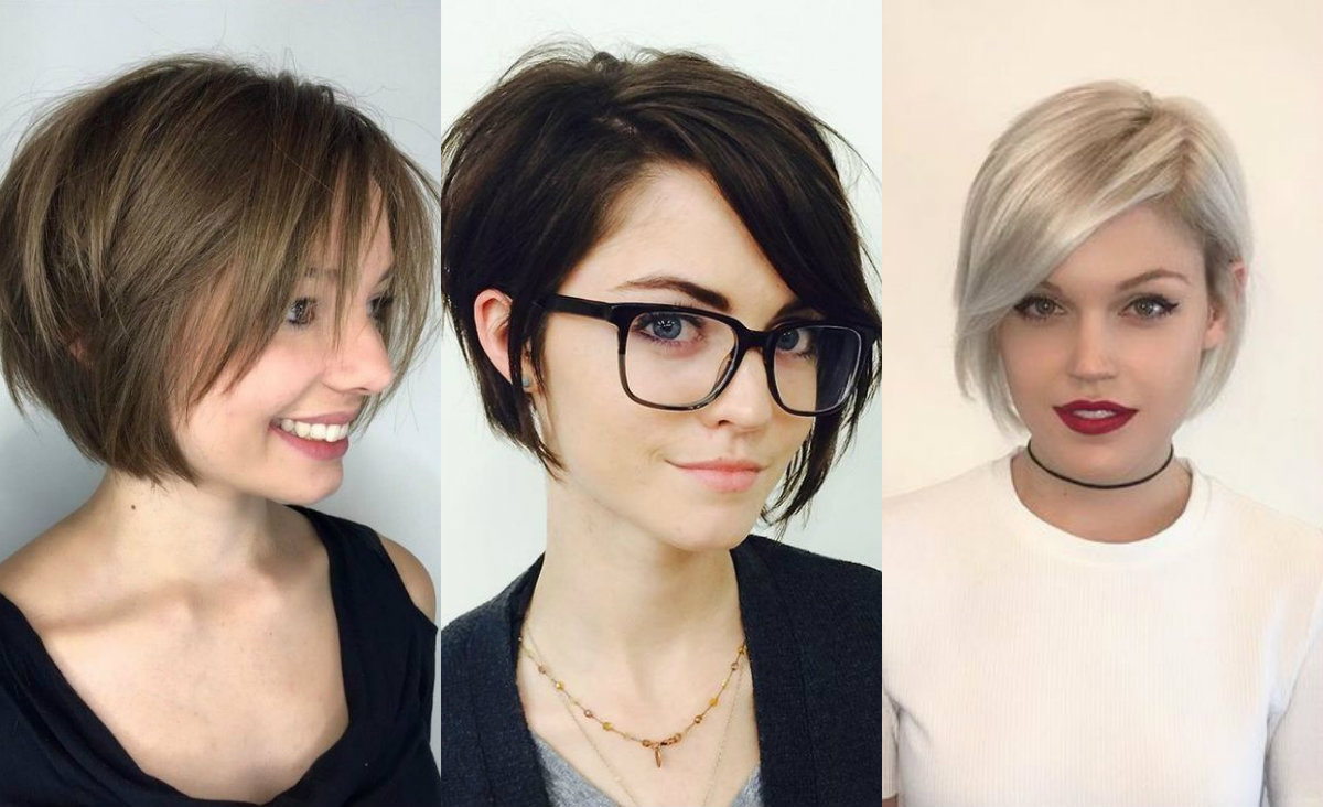 Straight short bob haircuts 2018