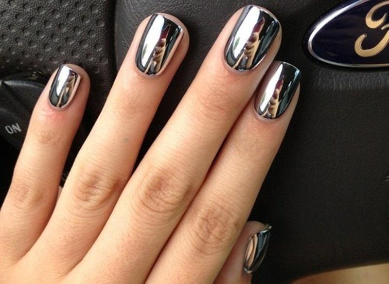 Втирка для ногтей — как наносить на гель лак. Идеи и новинки дизайна маникюра с втиркой - 60 фото