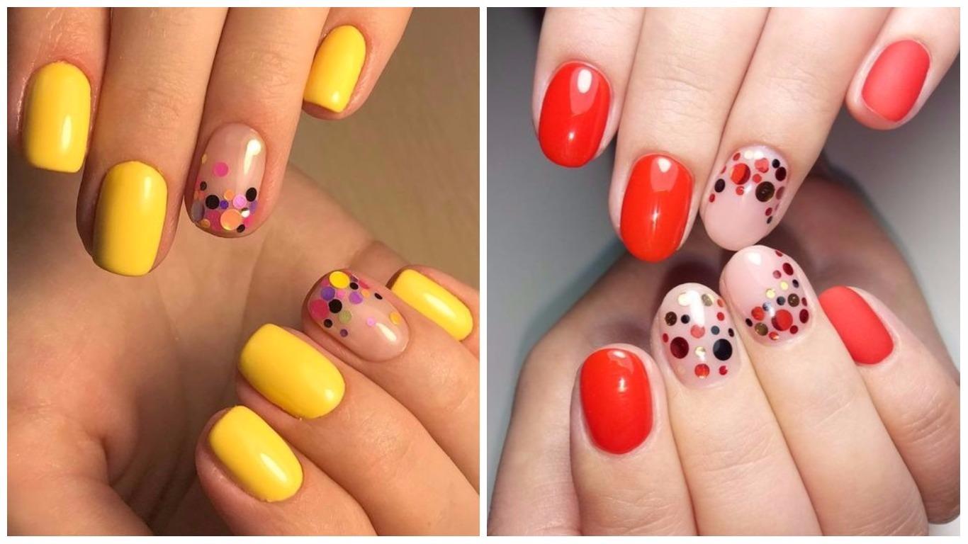Идеи дизайна ногтей с камифубиками - фото
