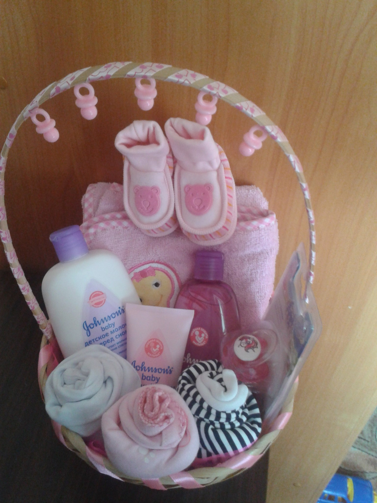 Оригинальные подарки новорожденной своими руками